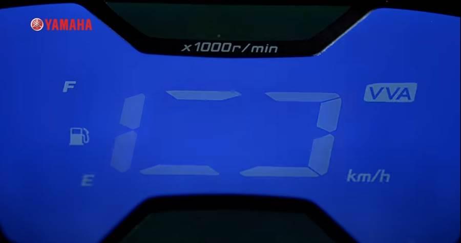 儀表開機動畫顯示引擎將配有VVA可變汽門系統。