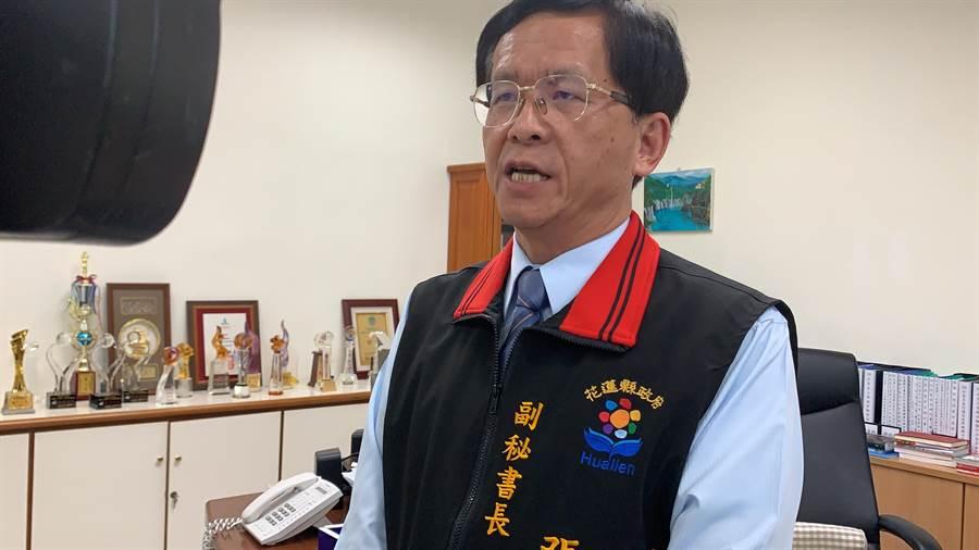 副秘書長兼發言人張逸華確認,下週二在議會臨時會公開說明卜蜂撤照公文內容。(王志偉攝)