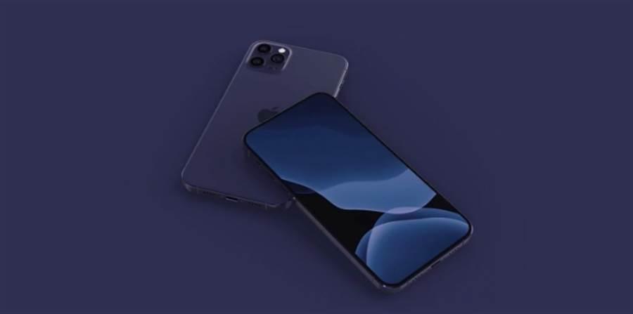 知名爆料達人 Max Weinbach 曾預測 iPhone 12 系列會推出全新的海軍藍款式。(摘自YouTube)