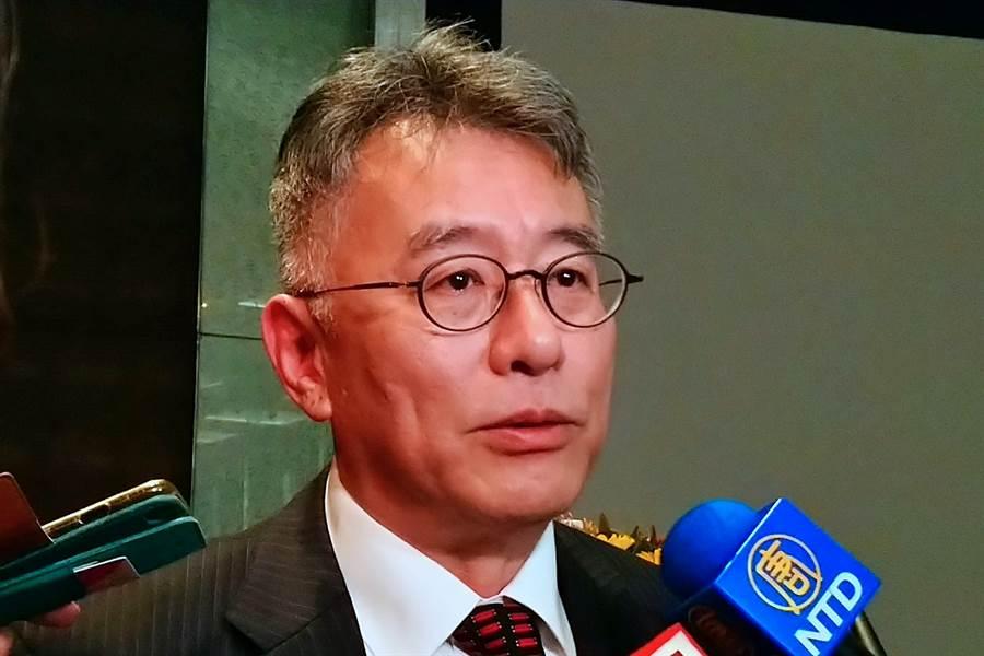日月光投控財務長董宏思。(資料照,記者林資傑攝)