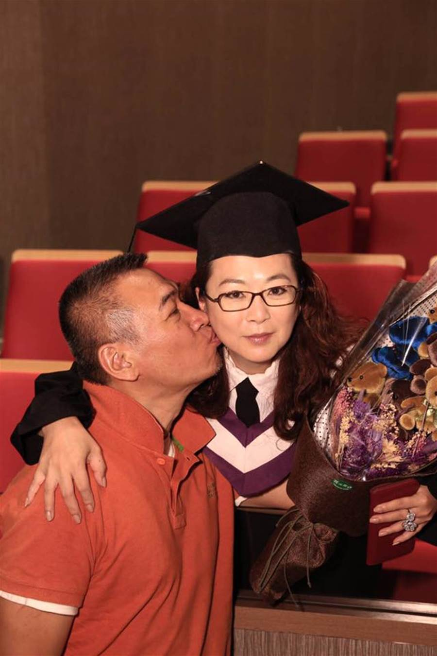 趙永馨和宋偉分手又復合,最後終於結婚了。(圖/FB@趙永馨)