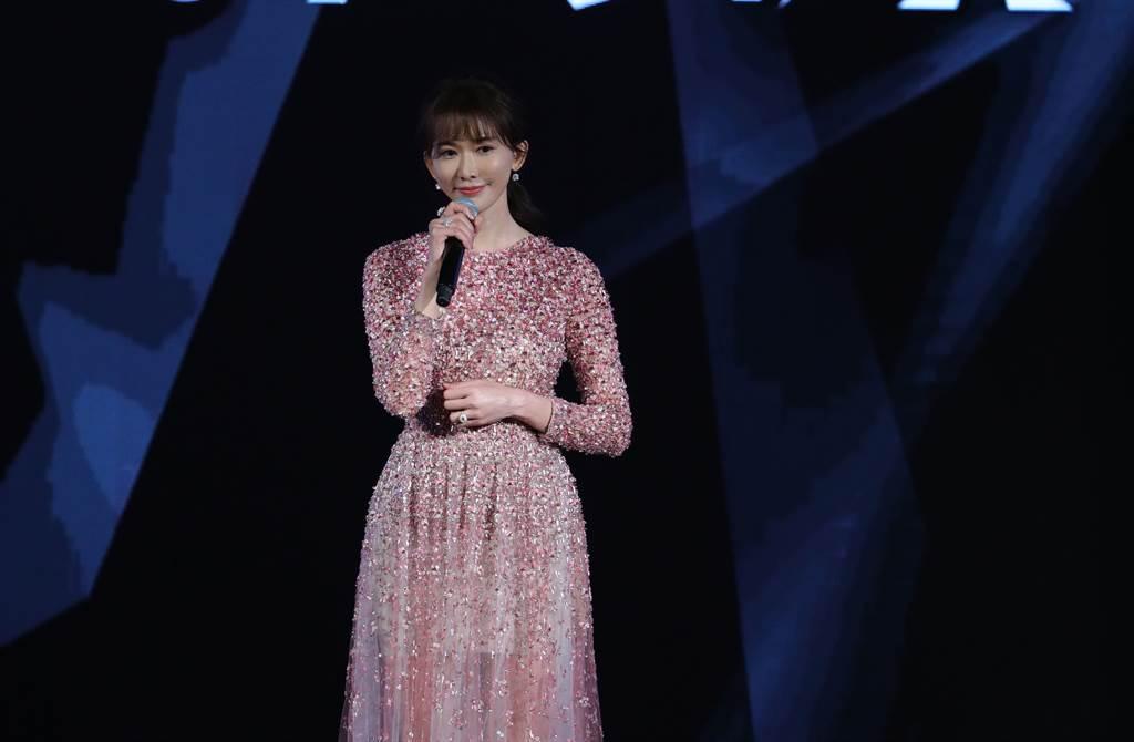志玲姐姐驚喜現身台北電影獎。(台北電影節提供)