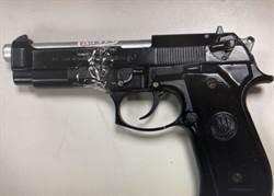 北市河濱公園撿到槍!改槍嫌犯辯稱:想到國防部研究槍支