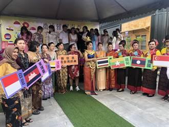 東協十國吃喝玩樂都在這 台南嘻門城打造首座東南亞文化商圈