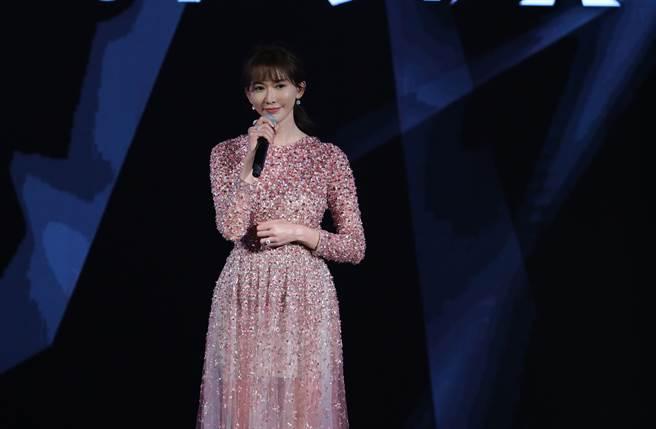 志玲姐姐惊喜现身台北电影奖。(台北电影节提供)