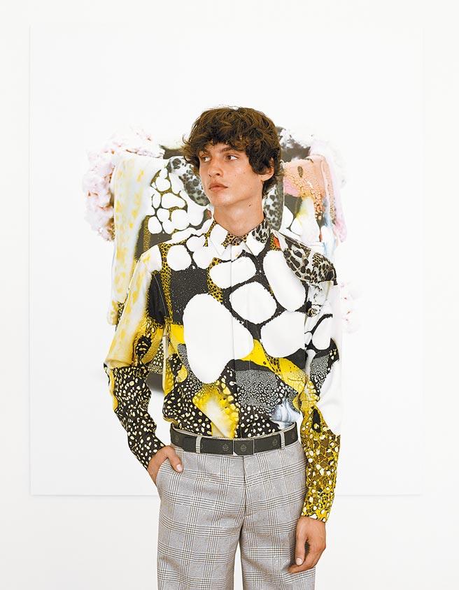 服裝上也可以看到Brian Rochefort的作品。(Berluti提供)