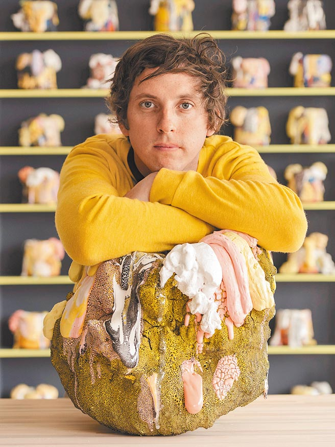 陶瓷藝術家Brian Rochefort。(Berluti提供)