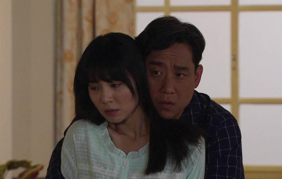 阿庞在《生生世世》中夜半示爱洪淇。(台视提供)