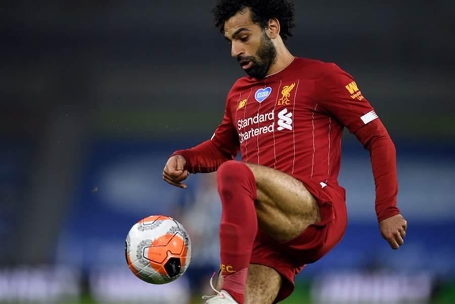 Mohamed SALAH力拚本賽季神射手(圖片來源︰達志影像)