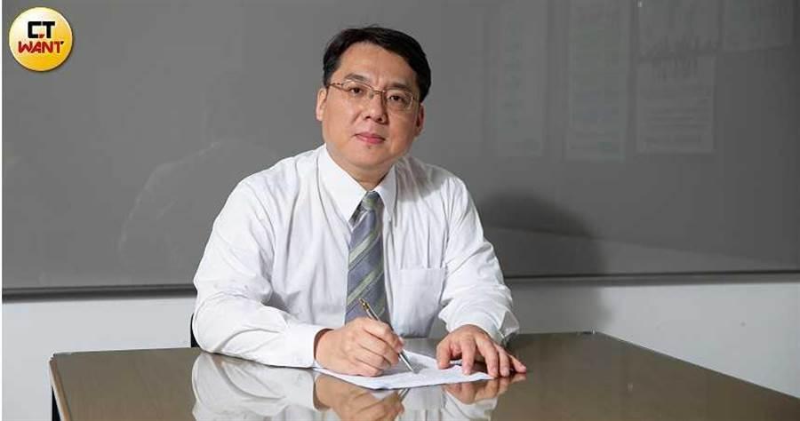 劉韋德律師。(攝影/張文玠)