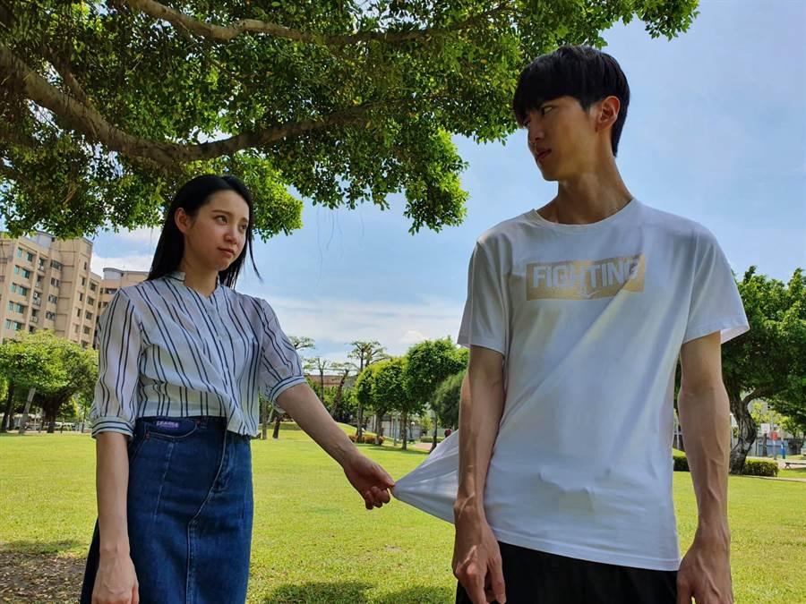 孫沁岳與程予希在《我的青春沒在怕》配對演出。(三立提供)