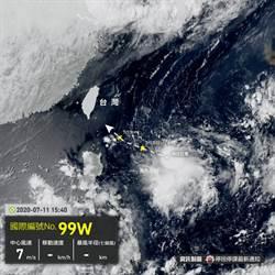 熱低壓恐生成第3號颱風 最接近台灣時間曝光