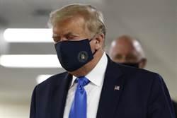 川普首度公開場合戴口罩 黃創夏說重話!
