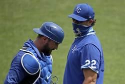 MLB》皇家捕手感染新冠 練球結束才發現