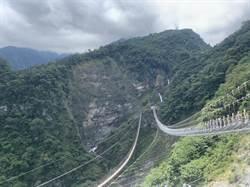 雙龍七彩吊橋聯外道路施工管制三日