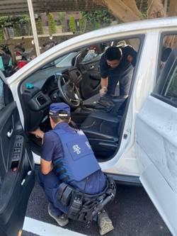 承租人債務糾紛 租車公司車輛遭砸車窗碎車體凹