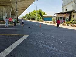宜蘭移工雙載機車等紅燈 遭貨車疾速「撞飛40公尺」1死1命危