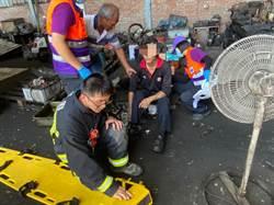 桃園物流公司工安意外 工人高台墜落1死1傷