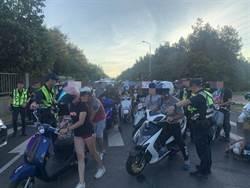 飆車族西濱競速 警甕中捉鱉1次攔300輛1個都不能少