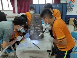 蚵寮學童學修復漁具 推動蠔藔民物館升級為地方博物館