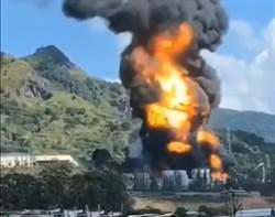 影》福建生質柴油工廠大爆炸 2失蹤2重傷