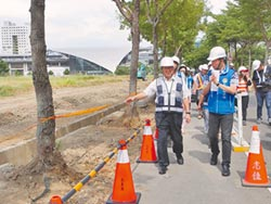 高鐵新竹站人行道 拓寬達4米