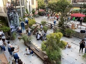 東海藝術街商圈舉辦露天茶市集 邀民眾體驗茶道文化