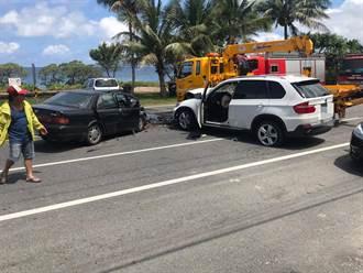 爛醉男酒駕衝入對向車道撞車3人傷 酒測破表達1.04