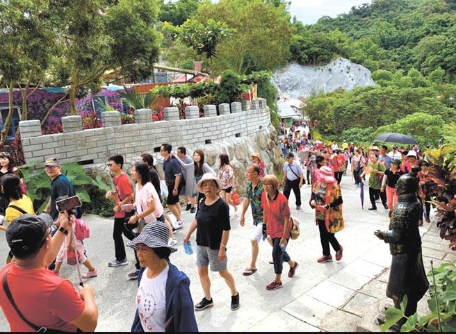 入園遊客。    圖/台灣萬里長城提供