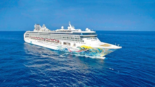 星夢郵輪「探索夢號」7月26日來台展開全球首例國際郵輪復航的跳島遊程。(星夢郵輪提供)