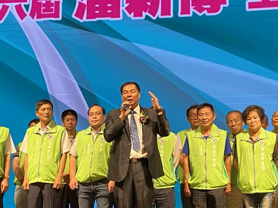 潘新傳說,民進黨需要改變,未來黨務推動將更接地氣。(曹婷婷攝)