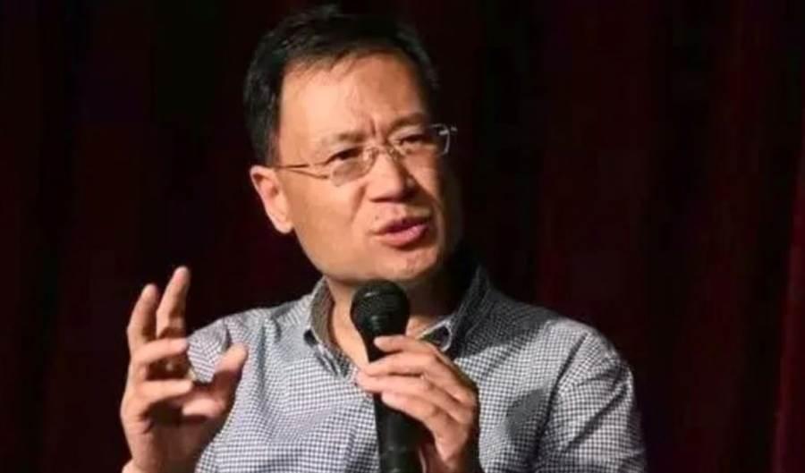 北京清大教授許章潤。(圖/VOA)