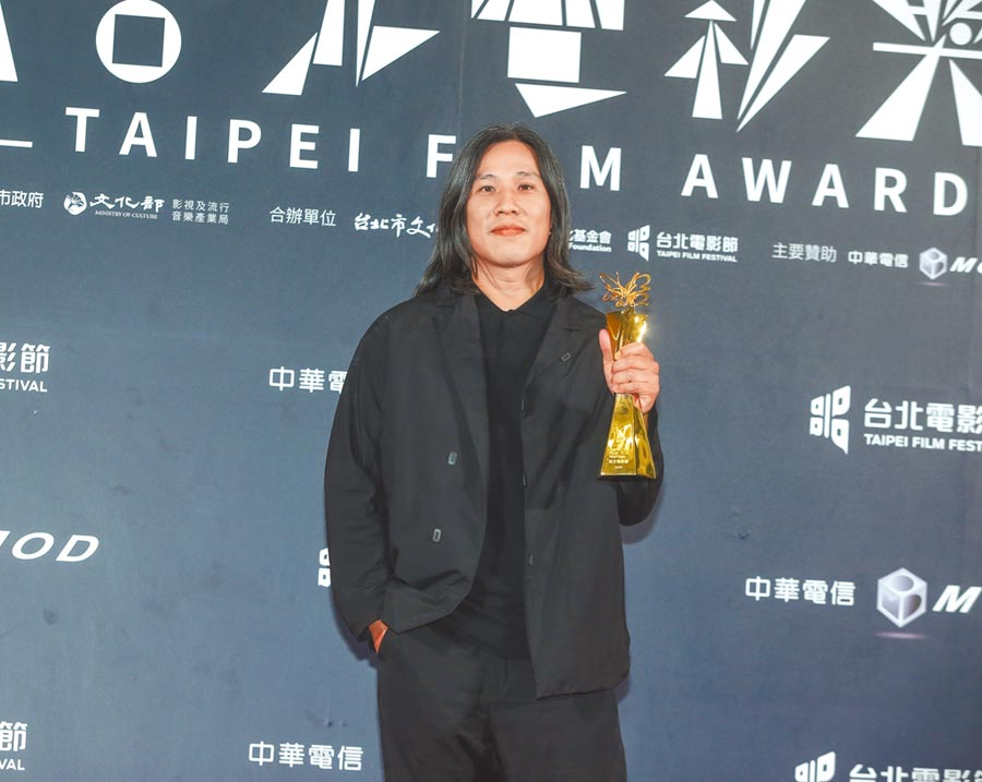 《下半場》導演張榮吉強敵環伺下勇奪北影最佳導演獎。(影視攝影組攝)
