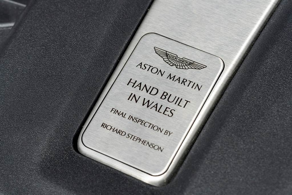 Aston Martin第一輛DBX下線