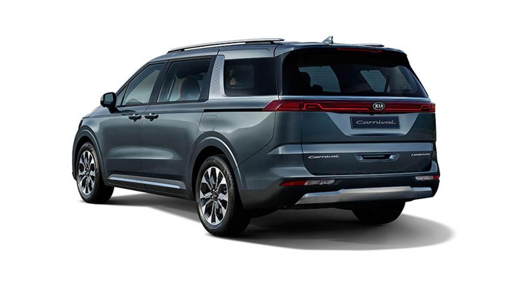 擁有全尺寸 MPV 最大室內空間,KIA Carnival Limousine 第四代內裝公開!