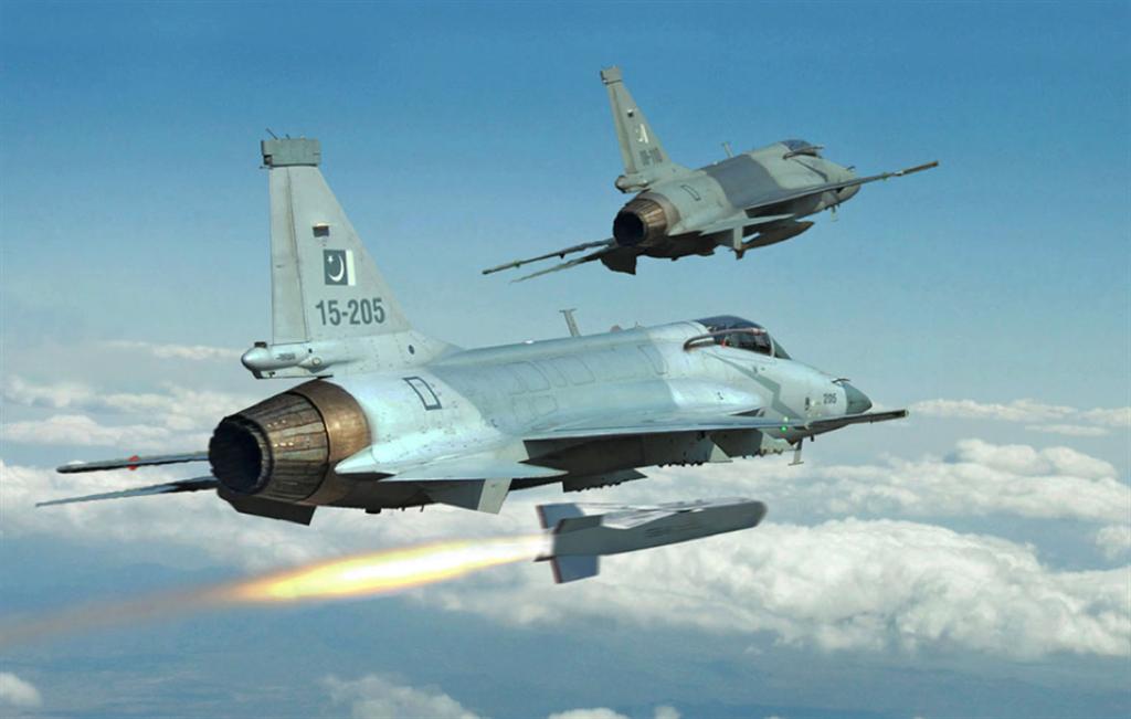 巴基斯坦JF-17战机,发动机是RD-93。(图/巴基斯坦空军)
