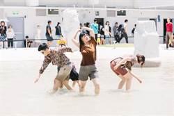 現代舞蹈結合夜間聲光 河樂廣場暑假活動登場