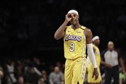 NBA》湖人好痛!隆多驚傳手指骨折無緣復賽