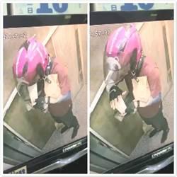 噁!熊貓外送員偷喝飲料被抓包 電梯「嘴對嘴」畫面曝光