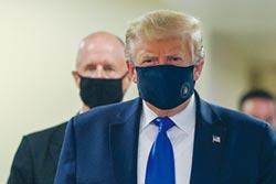 川普公開戴口罩 美國疫情不妙!