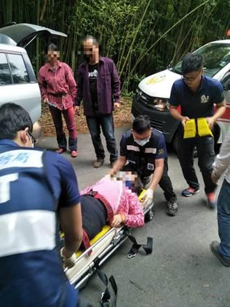 嘉義達邦採茶貨車猛力顛簸 18採茶工拋飛車下受傷