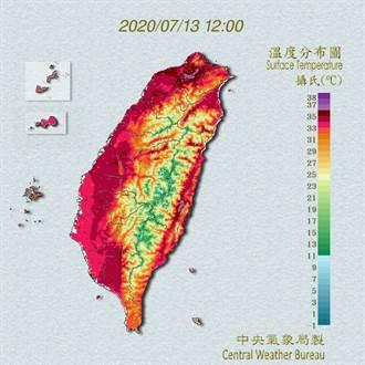 刷新雙紀錄!台北飆38.9度創7月最高溫 用電量也寫下歷史新高