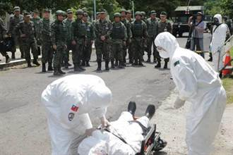 參謀總長黃曙光 視導部隊遭生物戰劑攻擊應變能力