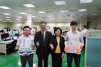 勞動部長許銘春參訪佳凌科技 為提供青年就業機會按讚