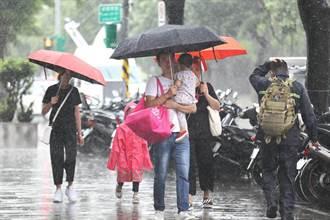 低氣壓明接近台灣!氣象局曝2降雨熱區