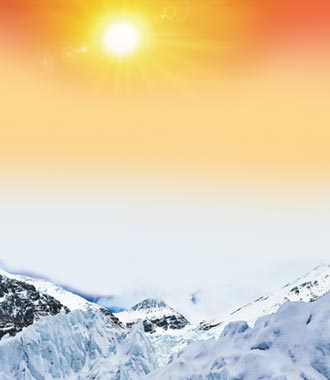 冰川消融影響陸生態 短多長空