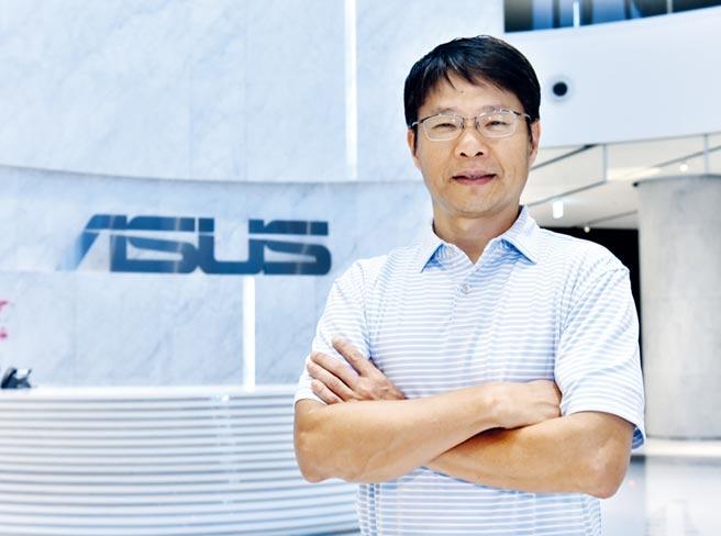 华硕全球副总裁暨AICS负责人黄泰一带领百人规模的AI研发中心团队,为华硕在AI时代抢商机。图/顏谦隆