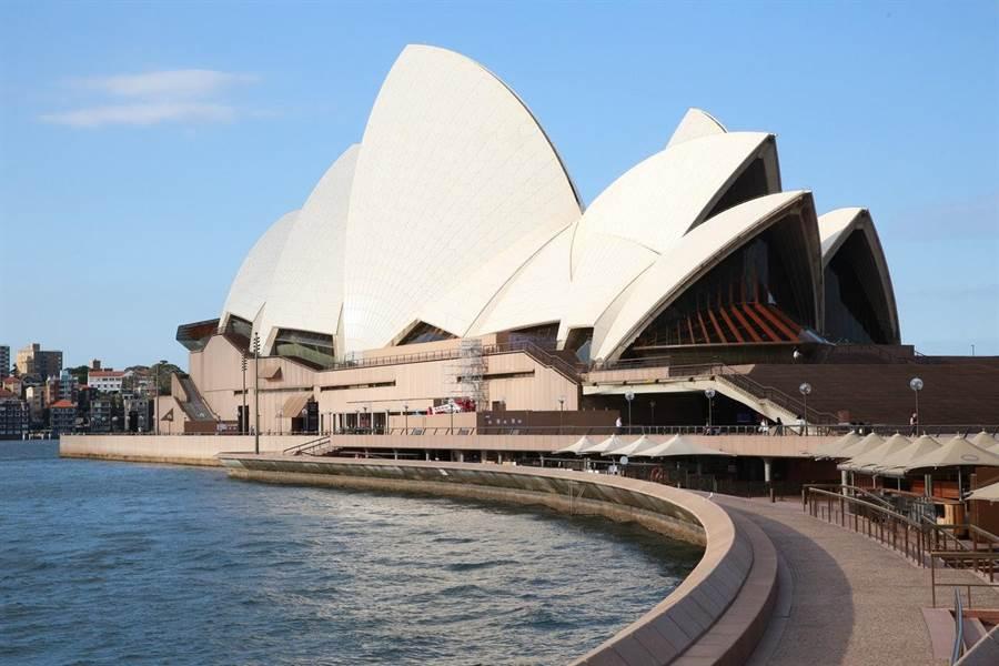 圖為澳洲著名的雪梨歌劇院(中新社)