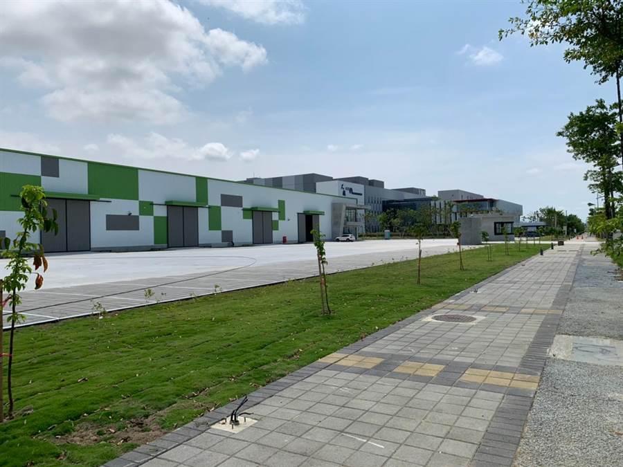 位於嘉義的全新凱勝電動車輛產研第一期基地工廠即將啟用。(凱勝提供)