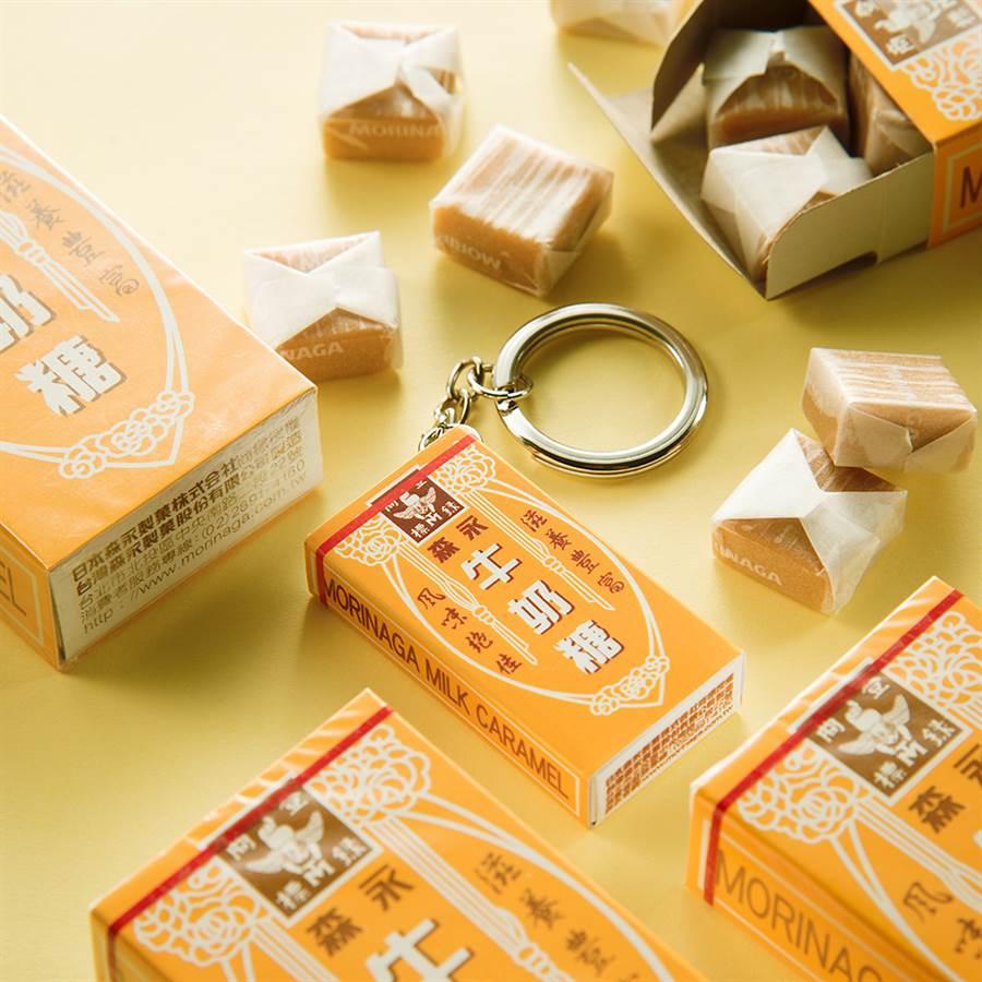 悠遊卡公司推出森永牛奶糖3D造型悠遊卡。(悠遊卡公司提供/黃慧雯台北傳真)
